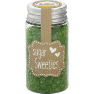 Cukier ozdobny kryształki 75g Birkmann zielony