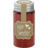 Cukier ozdobny mini perełki 75g Birkmann czerwony