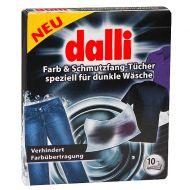 DALLI 10szt Chusteczki absorbujące barwniki i brud podczas prania