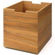 Dębowe pudełko na kółkach Skagerak Cutter