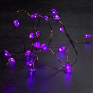 Dekoracja Laerke Sirius purpura