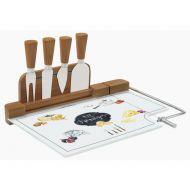 Deska do serów z nożami Fromages 31,5x20 cm Nuova R2S Kitchen Basics