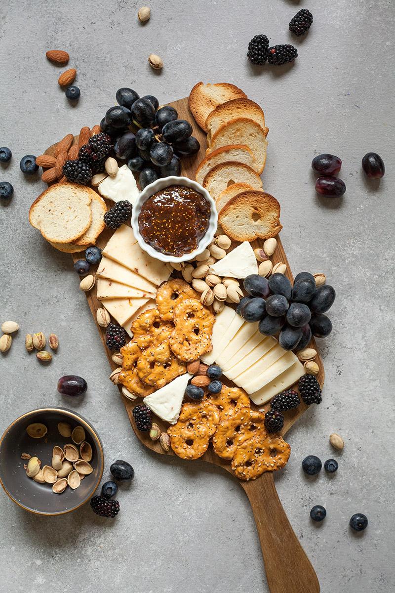 Deska do serów - pomysł na sylwestra