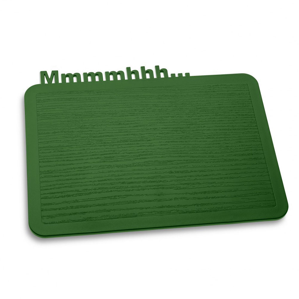 Deska śniadaniowa 19,8x25 cm Koziol HAPPY BOARDS MMMMHHH.... leśna zieleń KZ-3256657