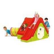 Domek dla dzieci 104x240x160cm Bazkar FUNTIVITY czerwony