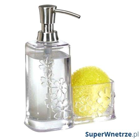 Dozownik do mydła z pojemnikiem InterDesign Blumz INT-25060