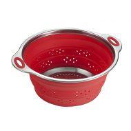 Durszlak składany 24cm Draining Brandani czerwony