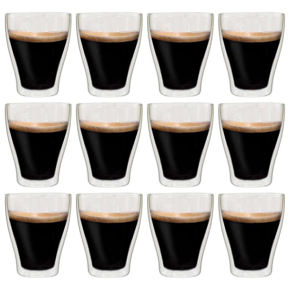 Szklanki termiczne na kawę, 12 szt 370 ml