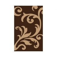 Dywan FIRE 080x150 451 BROWN BEIGE 8432