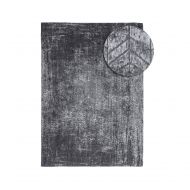 Dywan naturalny 170x240 cm Louis De Poortere Mad Man Harlem Contrast szaro czarny
