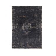 Dywan naturalny 170x240 cm Louis De Poortere Orient Mineral Black czarny