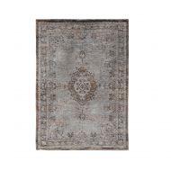 Dywan naturalny 170x240 cm Louis De Poortere Orient Grey Ebony brązowo szary