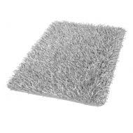 Dywanik łazienkowy 60 x 100 cm Kleine Wolke Riva srebrnoszary