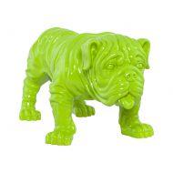 Figurka Bulldog Kokoon Design zielony