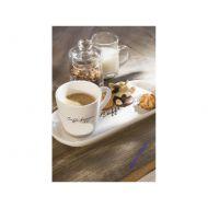 Filiżanka z talerzykiem Caffe Doppio 25,5x11x8 cm