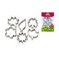 Foremki do ciastek Kwiaty i Liście 6szt 15646 Guardini