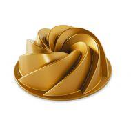 Forma do babki 22cm Nordic Ware Heritage złota