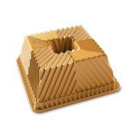 Forma do babki Squared Gold Nordic Ware złota