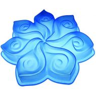 Forma do ciasta Calla Pavoni niebieska