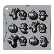Forma do czekoladek lub kostek lodu 12 sztuk halloween Pavoni