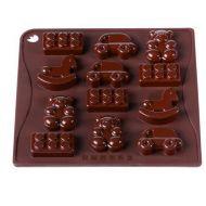 Forma do czekoladek lub kostek lodu 12 sztuk zabawki Pavoni