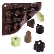 Forma do czekoladek lub kostek lodu 16 sztuk świąteczne Pavoni