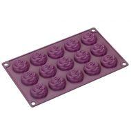 Forma na 15 ciasteczek Lurch róże