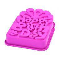 Forma na ciasto Happy Birthday Pavoni różwy