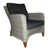 Fotel 51x72x40 cm Miloo Home Bilbao szary
