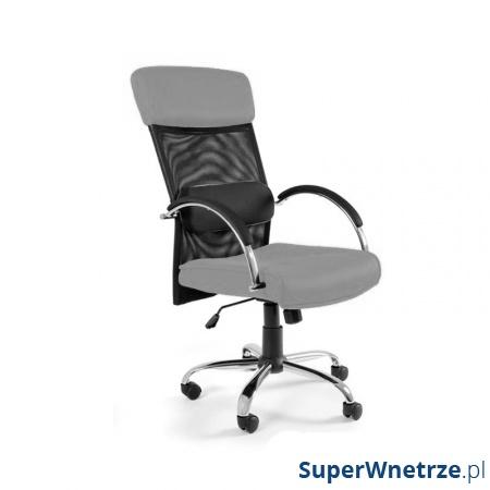 Fotel biurowy UNIQUE Overcross szary W-62-8