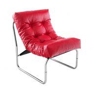 Fotel Boudoir Kokoon Design czerwony