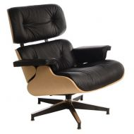 Fotel 82x85x54cm D2 Vip czarny/natural oak/standard