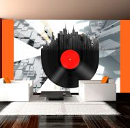 Fototapeta - Heavy sounds of the city (200x154 cm)