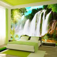 Fototapeta - PIękno natury: wodospad (300x210 cm)