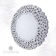 Grace - okrągłe lustro dekoracyjne w ażurowej ramie