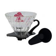 Hario szklany Drip  V60-02 - czarny