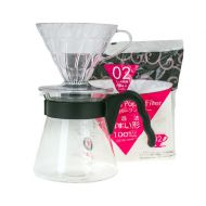Hario zestaw V60 Pour Over Kit - drip + server + filtry