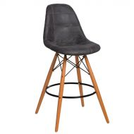 Krzesło barowe 46x54x105cm D2 P016W Pico grafitowe