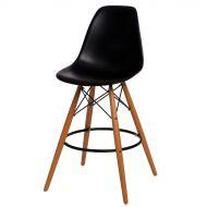 Krzesło barowe 46x54x105cm D2 P016W PP czarny