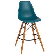 Krzesło barowe 46x54x105cm D2 P016W PP morskie