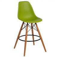 Krzesło barowe 46x54x105cm D2 P016W PP zielone