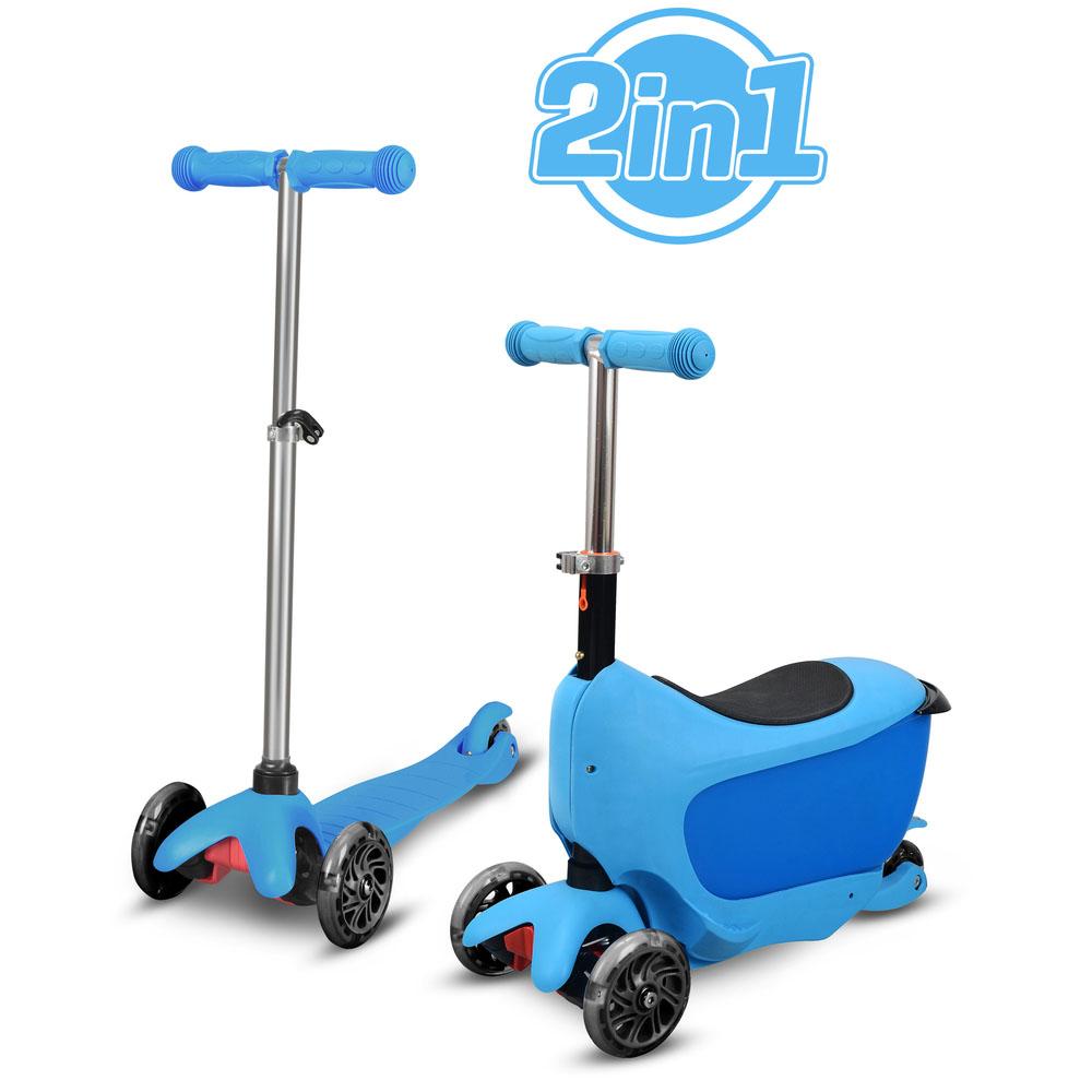 HULAJNOGA TAMAN 2w1 NIEBIESKA  Buddy Toys BPC 4310