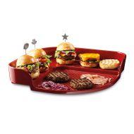 Kamień do pieczenia burgerów Emile Henry czerwony