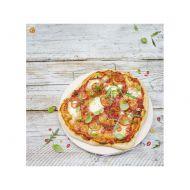 Kamień do pizzy+ podajnik 33 cm Jamie Oliver kremowy