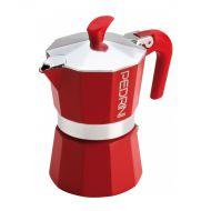 Kawiarka 6TZ Pedrini Aroma Color czerwona