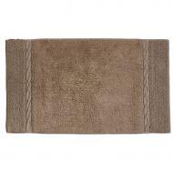 Dywanik łazienkowy 100 cm x 60 cm Kela Landora brązowy