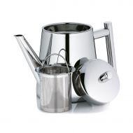 Dzbanek do herbaty z zaparzaczem 0,9 l Kela Ancona srebrny