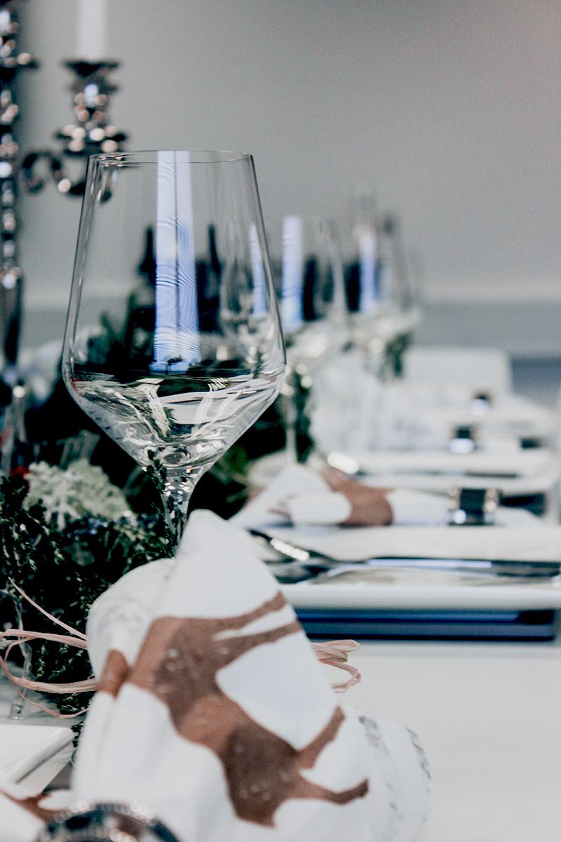 kieliszki do wina na prezent świąteczny