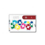 Kieszonkowy zestaw narzędzi VX Colors Victorinox Swisscard Classic multikolor