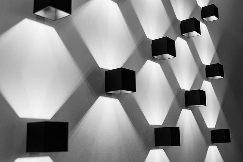 Kinkiety Sollux Lighting geometryczne